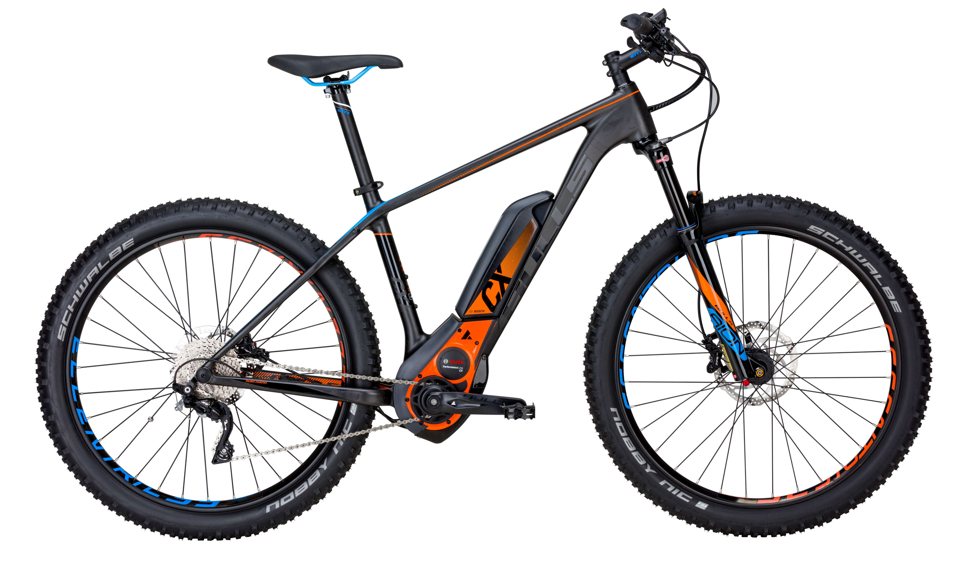 BULLS E-Bike Black Adder E