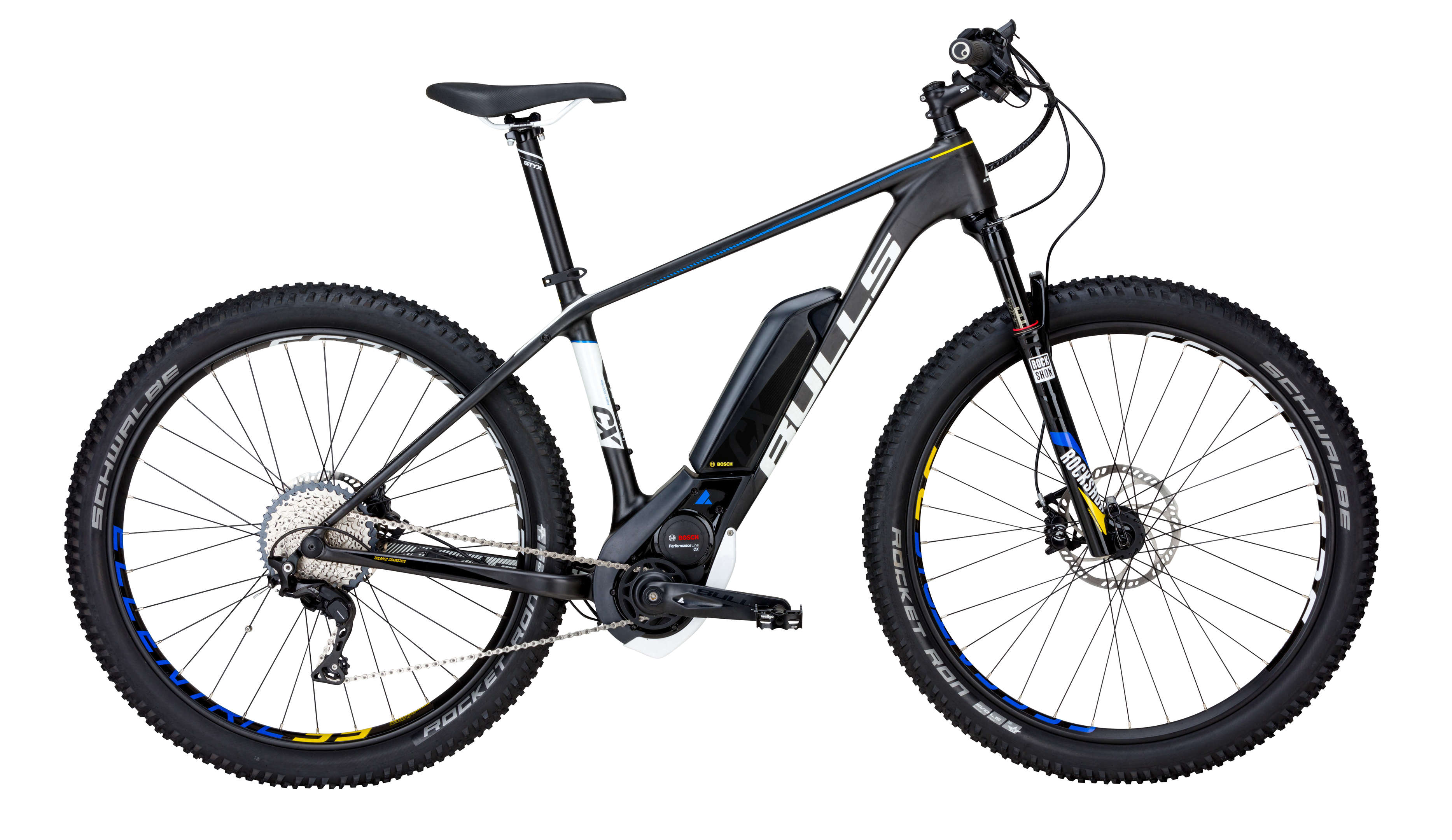 BULLS E-Bike Black Adder Team E