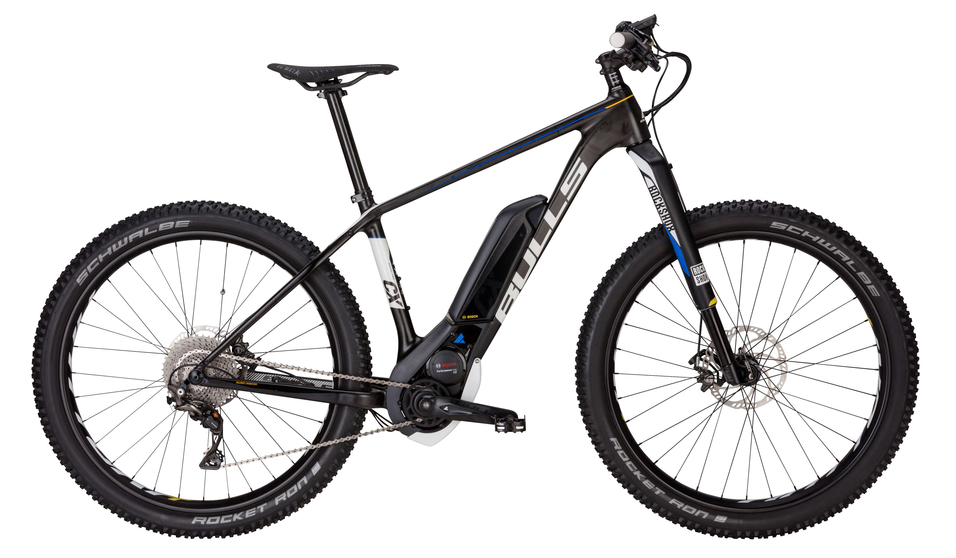 BULLS E-Bike Black Adder Team E SL