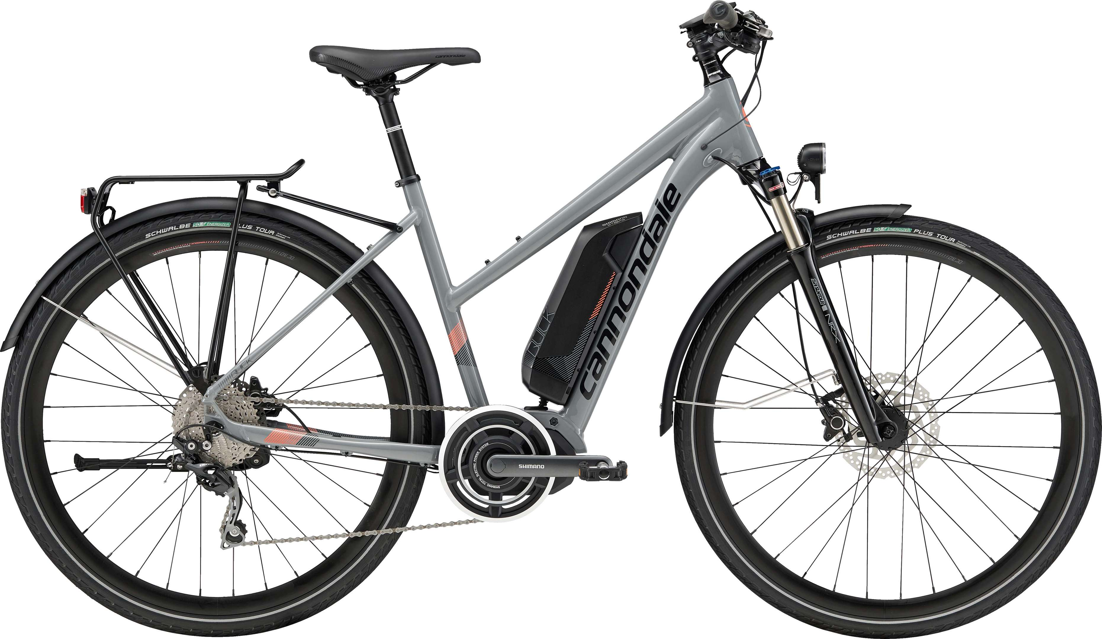 Cannondale E-City 700 F Quick Neo Tourer Wmn GRY