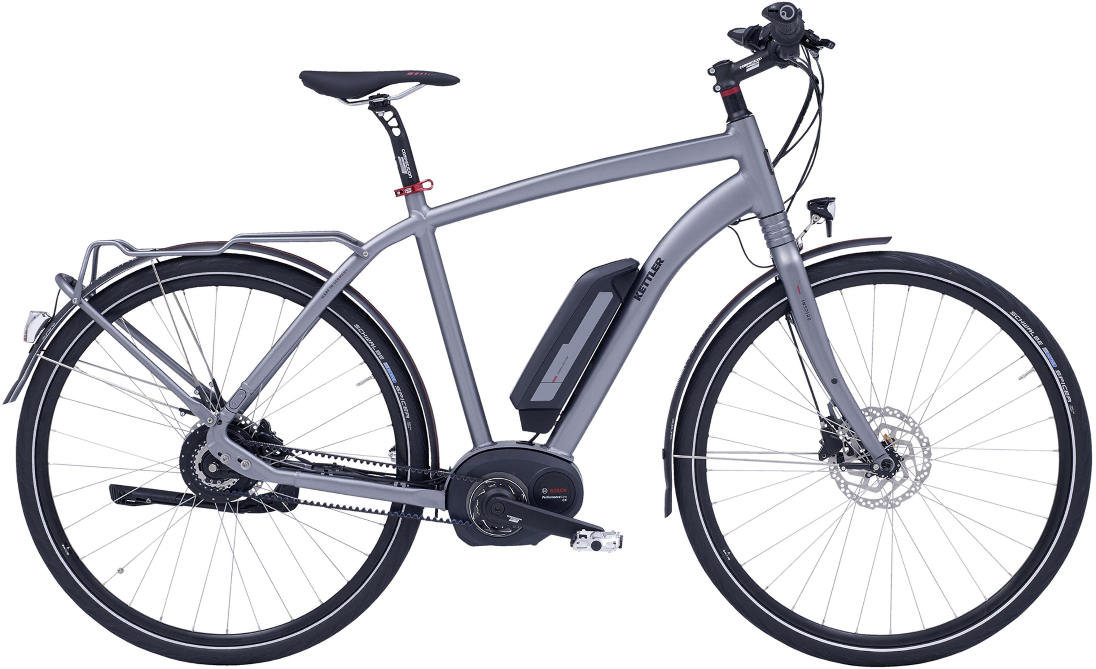 kettler alu rad e bike inspire e beltdrive eurorad. Black Bedroom Furniture Sets. Home Design Ideas
