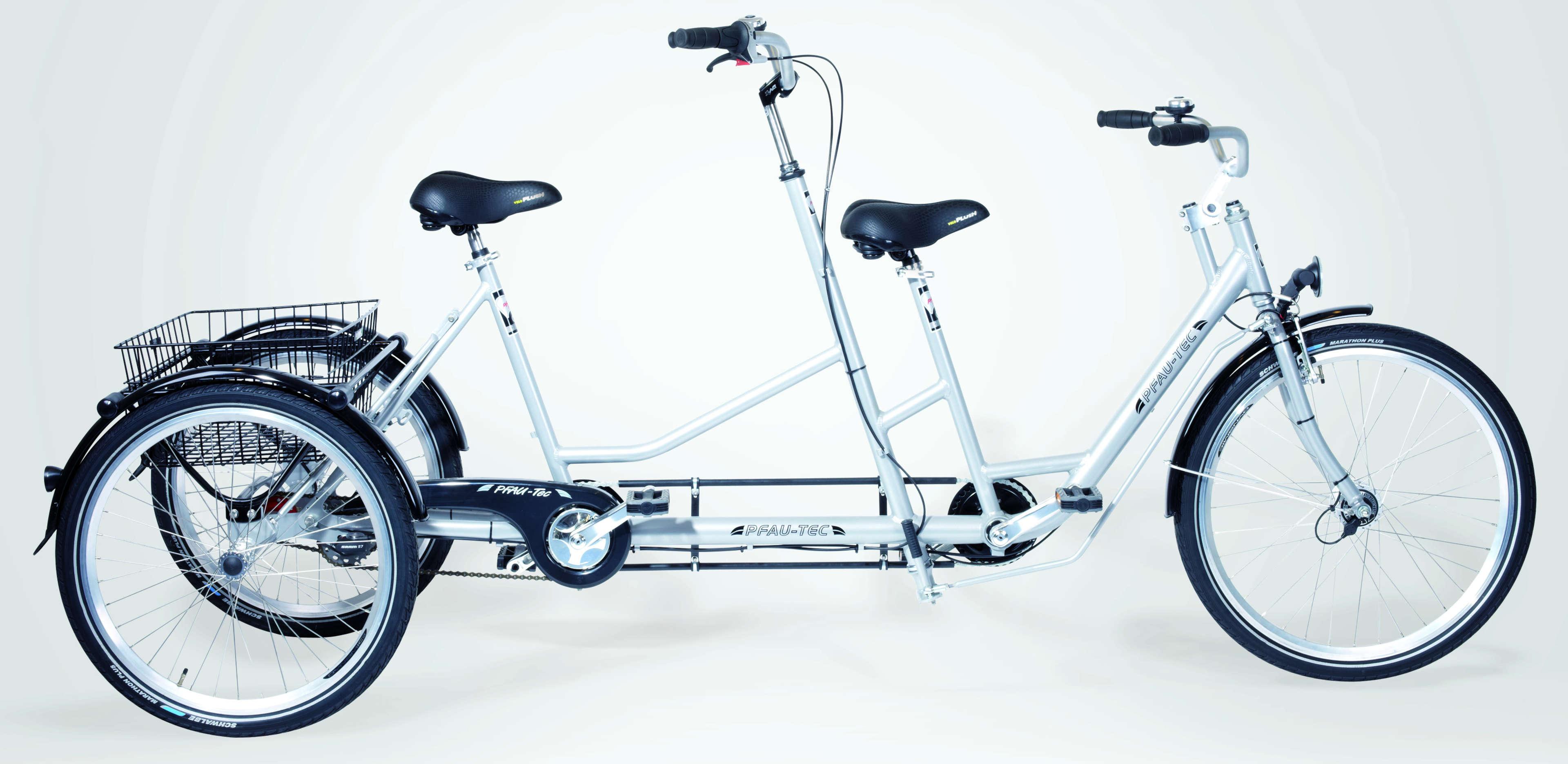 pfau tec dreirad fusione tandem eurorad bikeleasingeurorad bikeleasing. Black Bedroom Furniture Sets. Home Design Ideas
