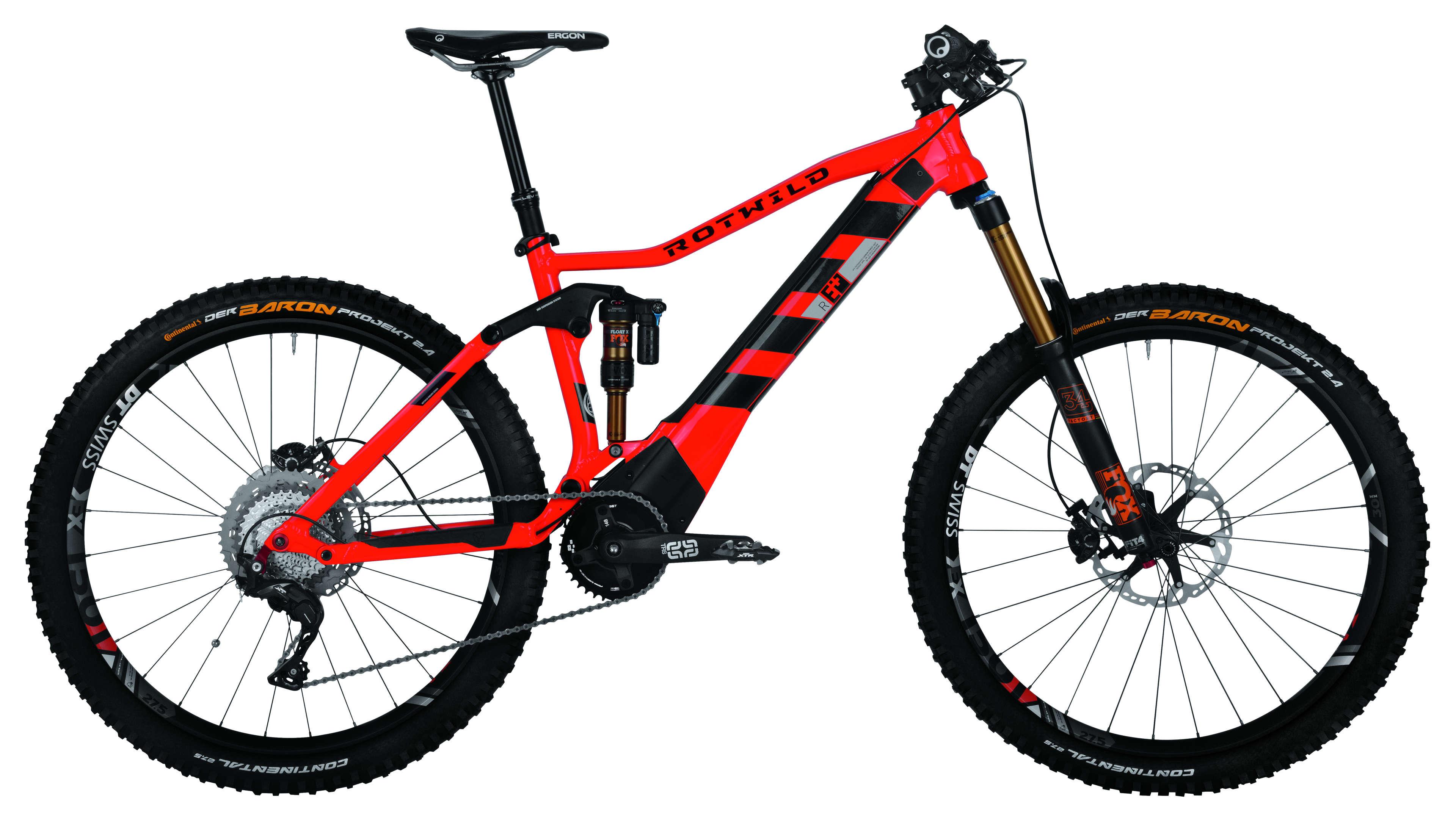 Rotwild E-Bike R.E+ FS Evo