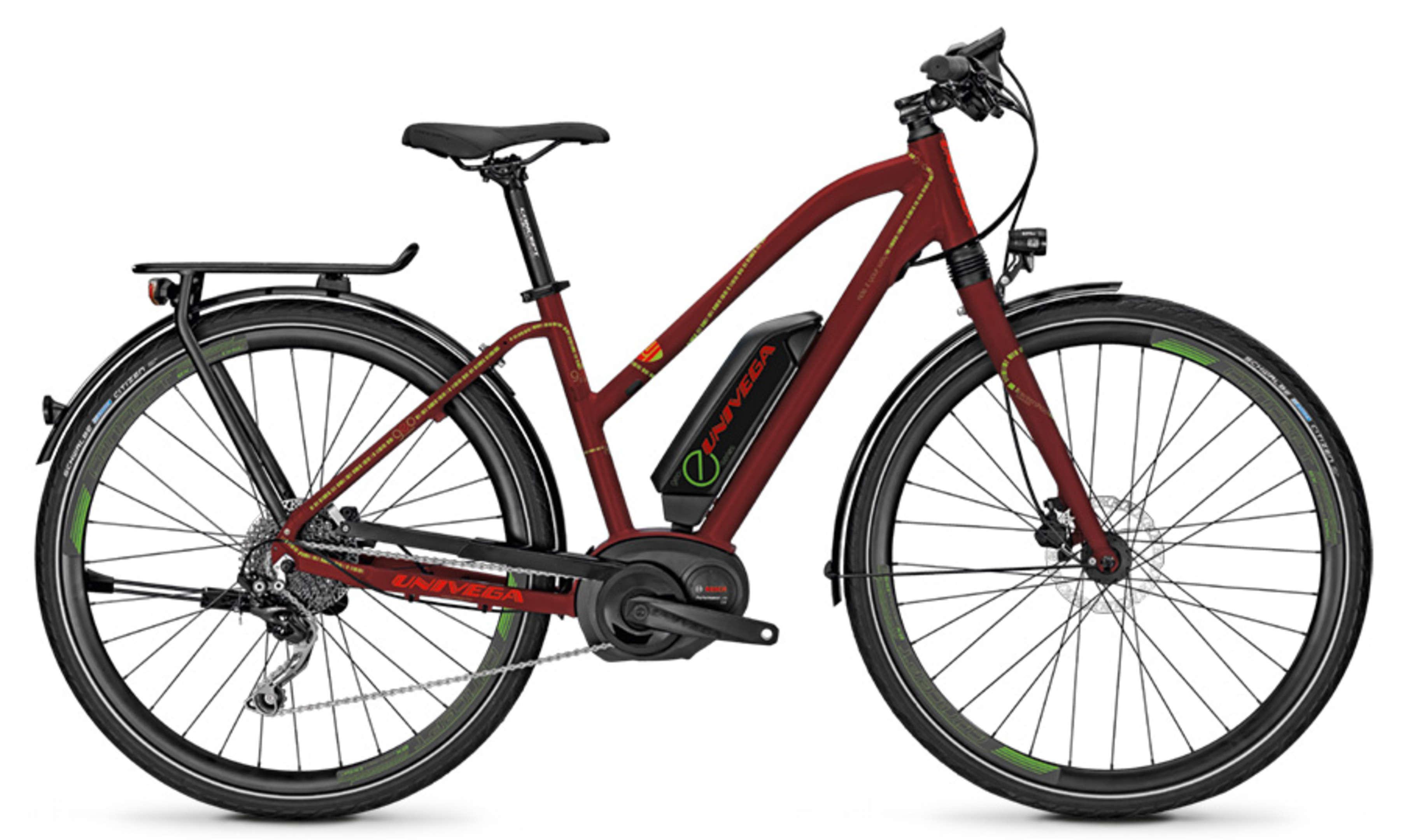 Univega E-Bike GEO E 2.0 10G 13,4AH 36V